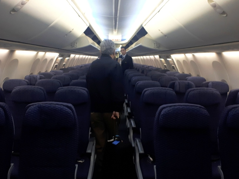 economy class cabin boeing 737 copa airlines