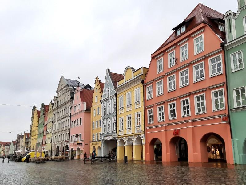 landshut bavaria old town