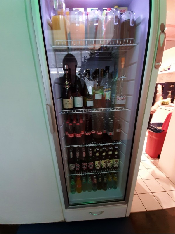 lounge fridge