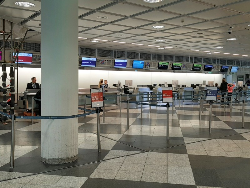 air france klm check-in munich