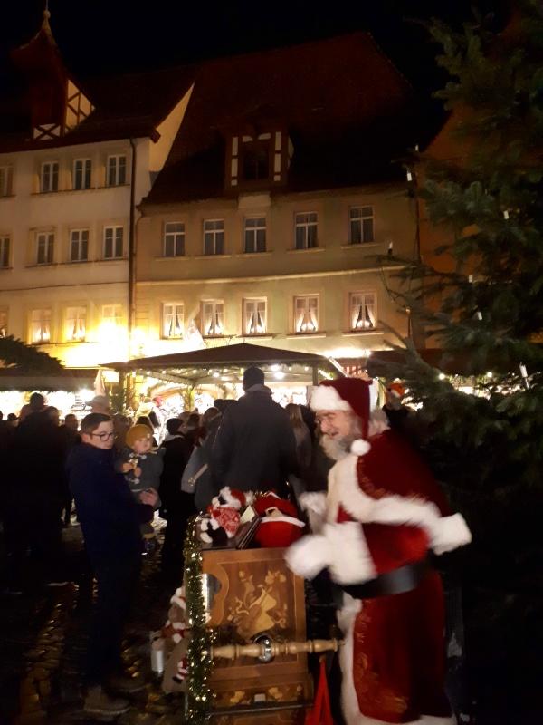 santa christmas market rothenburg