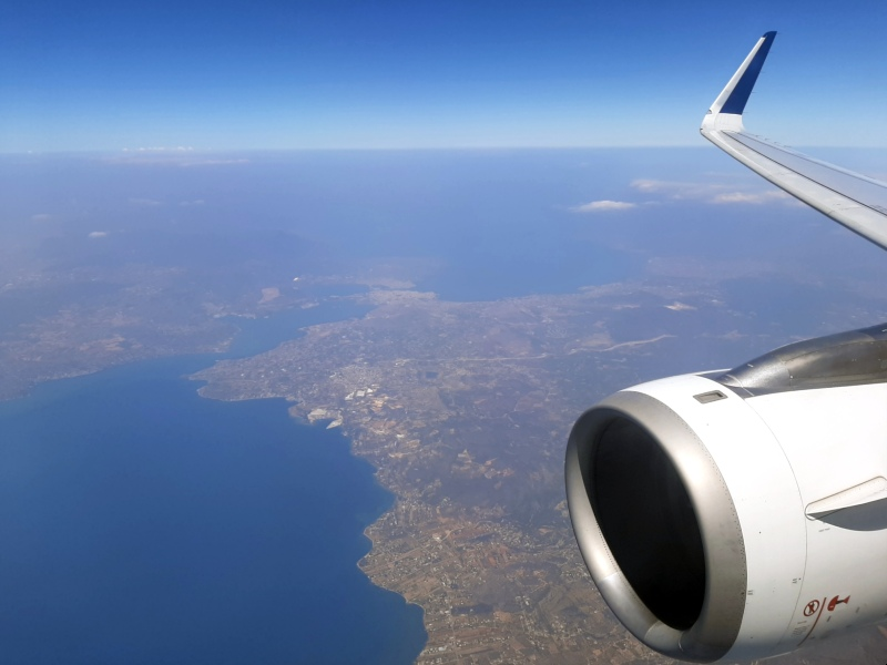 corona international flight aegean