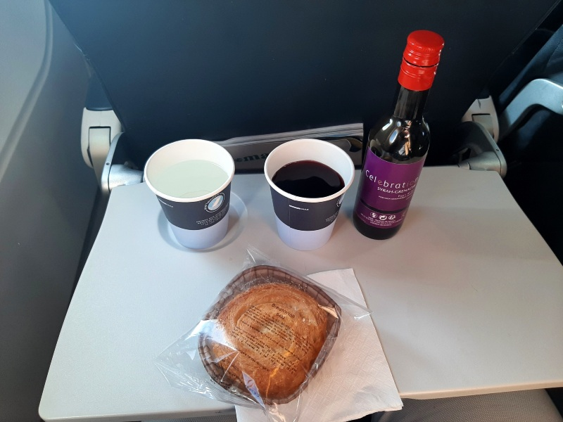 air france economy airbus a319 review snack