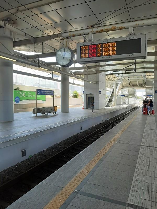 athens airport metro