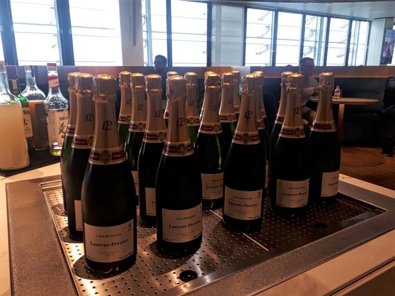 air france champagne