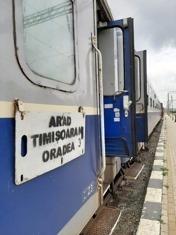 romania train