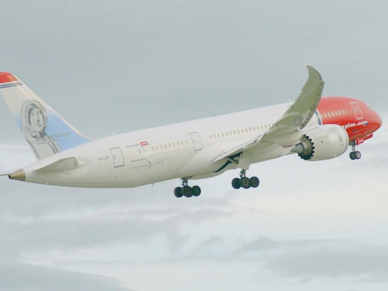 norwegian boeing 787