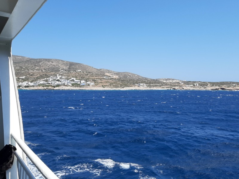 starboard view donousa