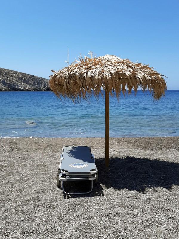 sunbed greece vatses astypalea island