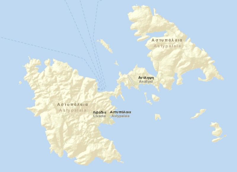 astypalea map