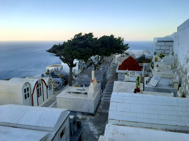 church cemetery greece