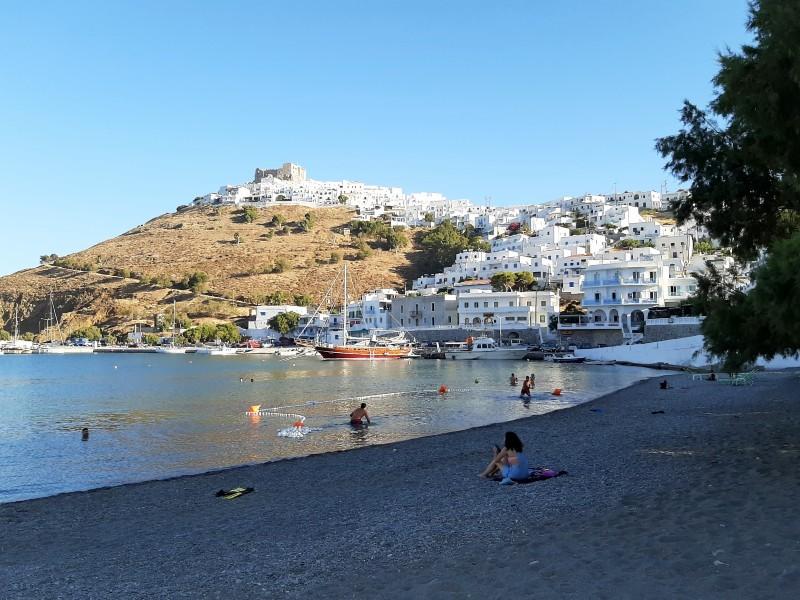 skala astypalea town beach