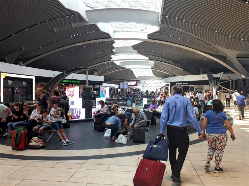 rome fiumicino airport terminal 3