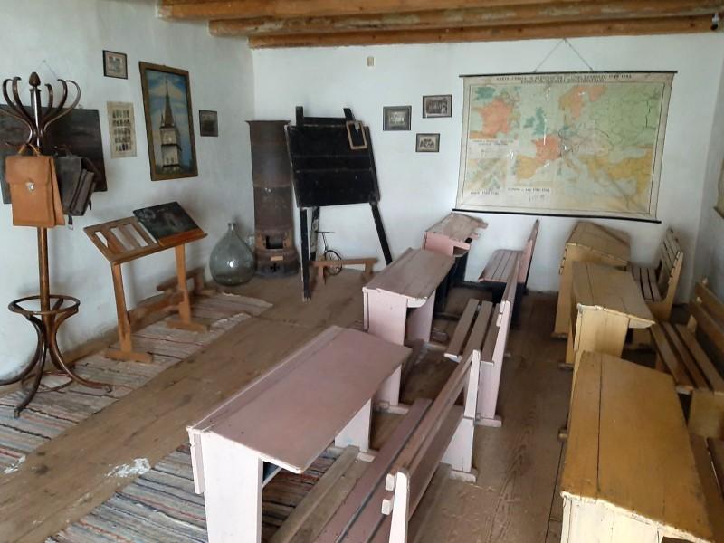 saxon schoolroom transylvania