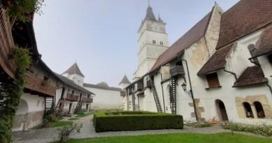harman fortified churches transylvania saxon