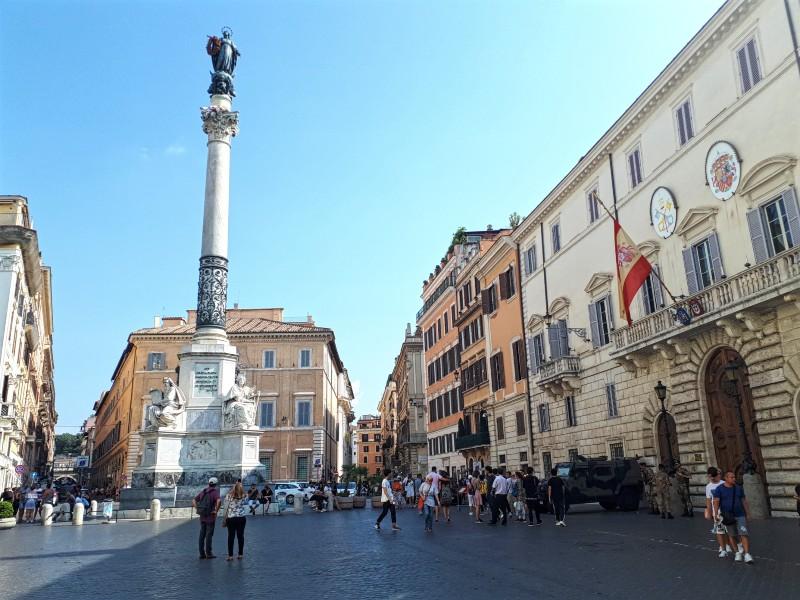 Piazza di Spagna rome half day