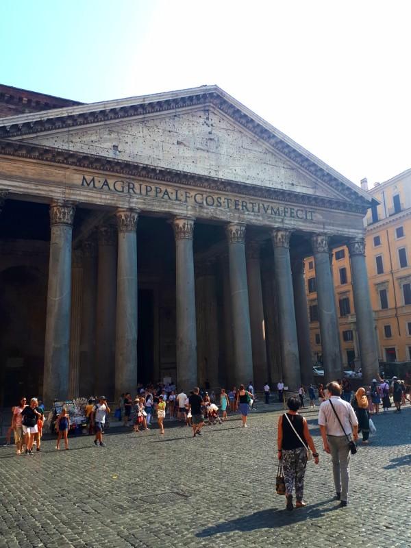 pantheon rome half day