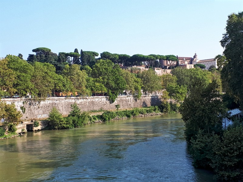 tiber rome view