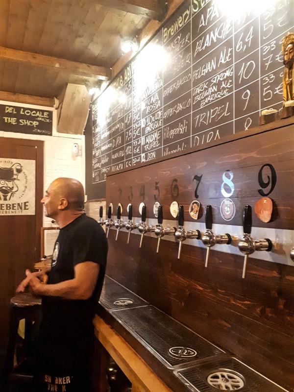 trastevere craft beer