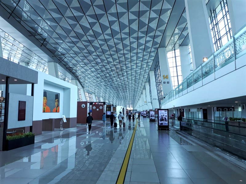 jakarta airport terminal 3 domestic