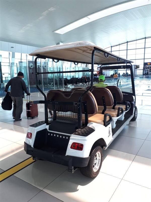 buggy golf cart jakarta airport