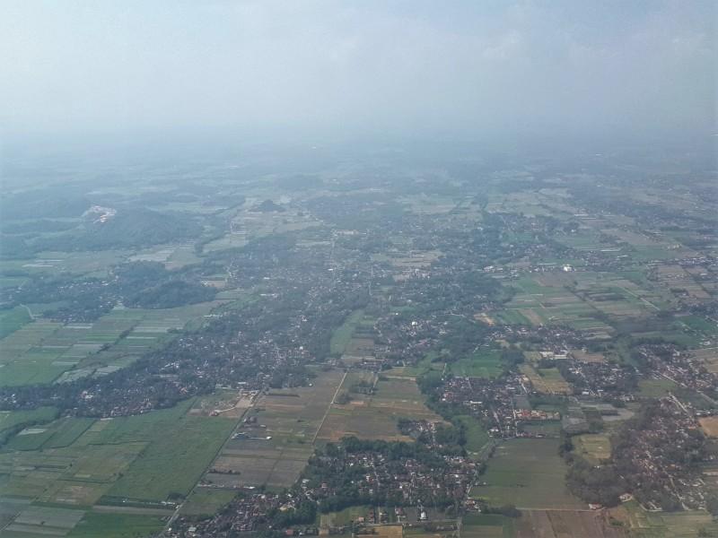 yogyakarta landing view