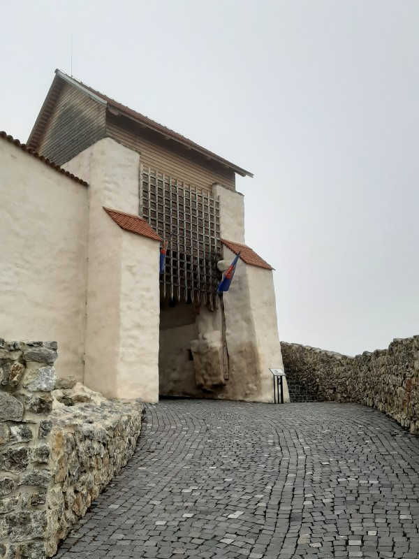 entrance gate fortress