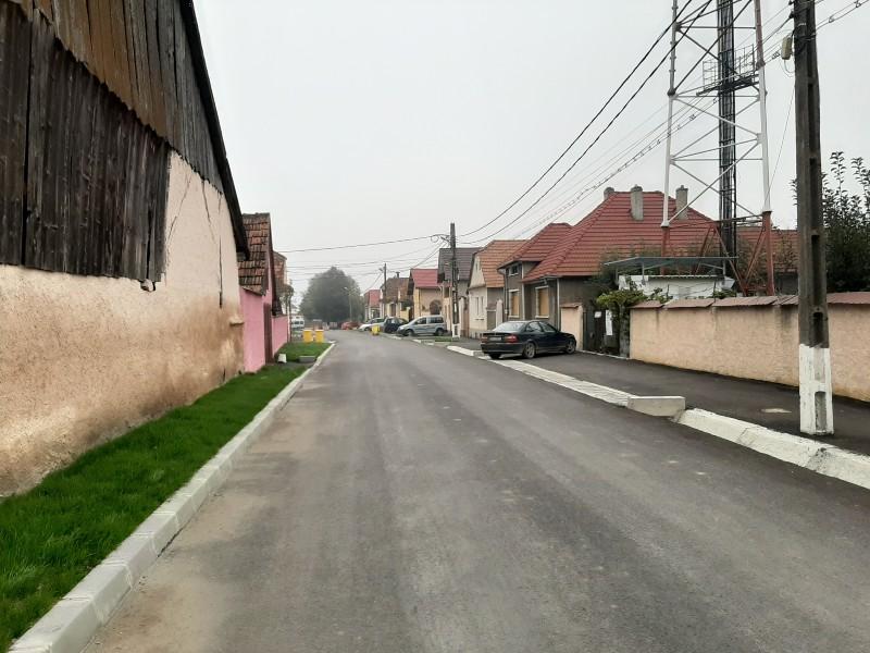feldioara street village