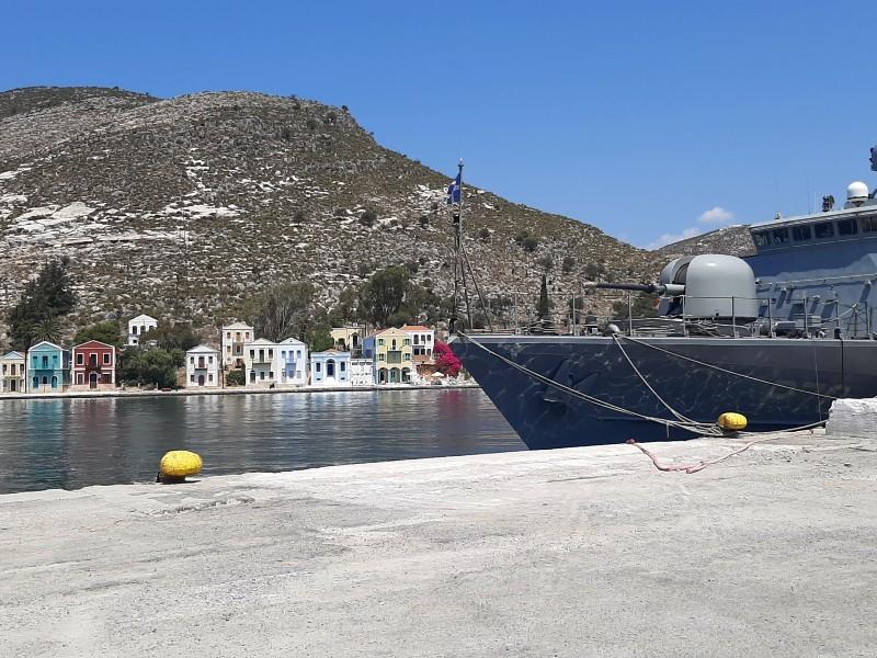 hellenic navy kastellorizo