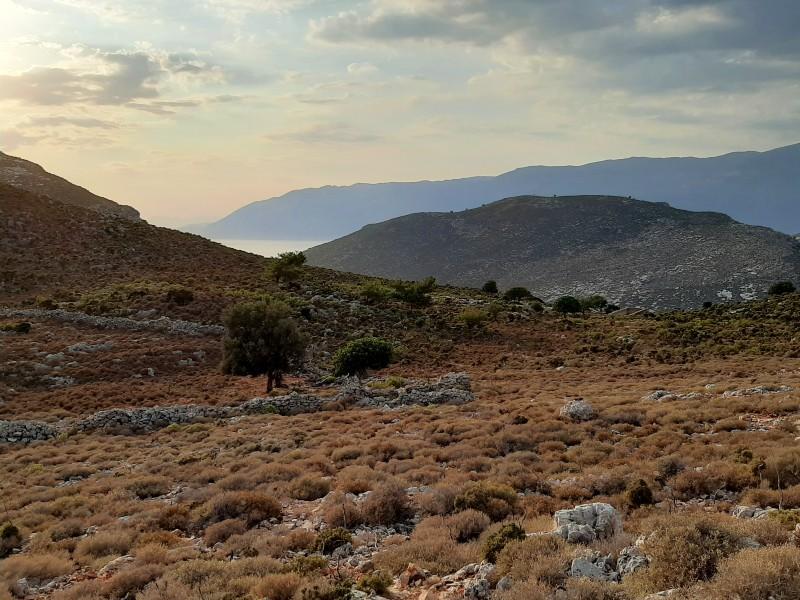 mountain kastellorizo hike hiking