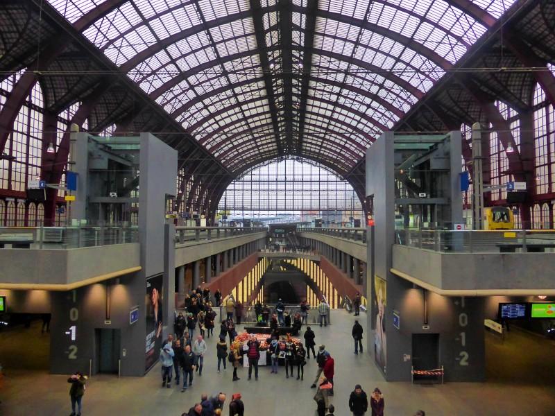 antwerp central station belgium