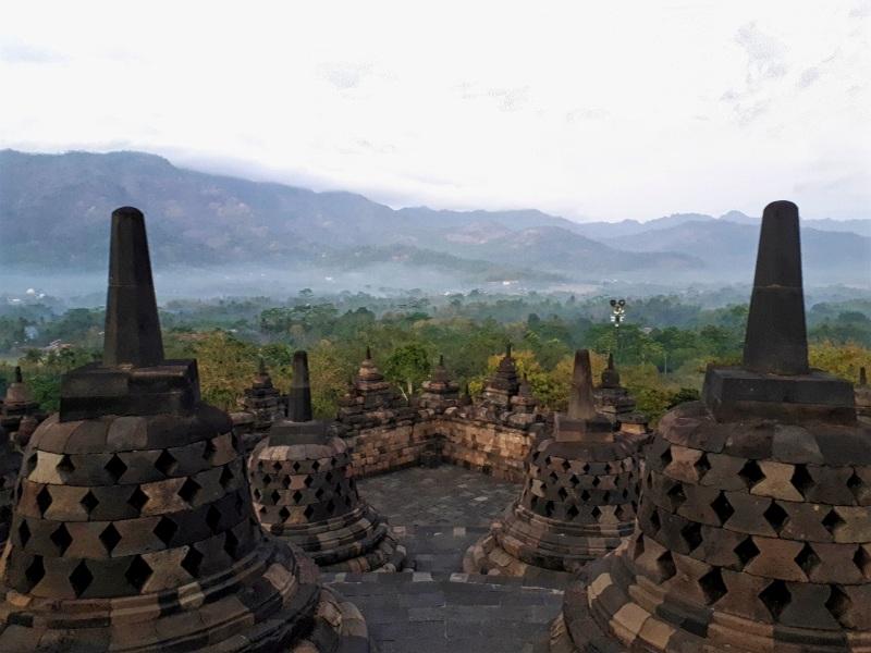 borobudur temple indonesia java visit