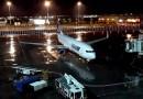 tarom plane flight late night egypt cairo