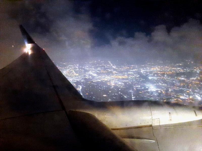 late night flight cairo
