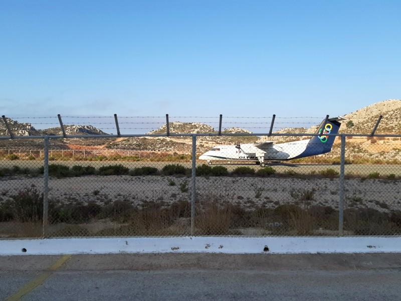 bombardier dash 8-100 olympic air kastellorizo