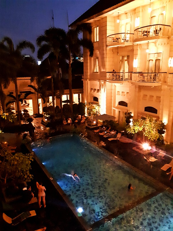pool balcony