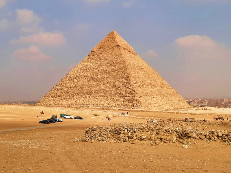 pyramid of khafre chephren trip report egypt