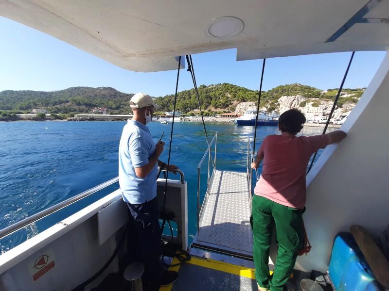 crew ferry disembarkation