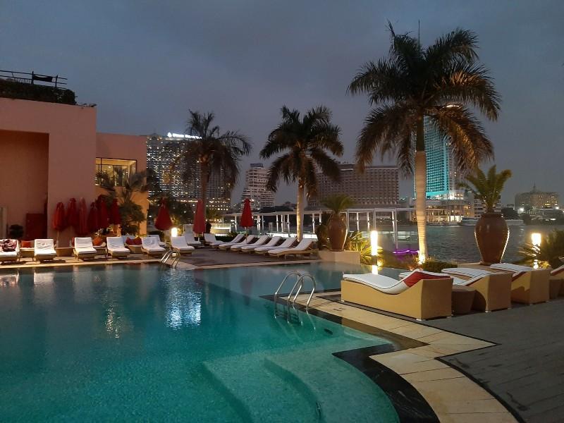 sofitel nile el gezirah cairo swimming pool