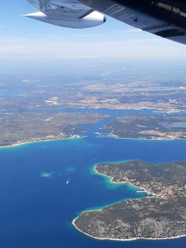 sibenik croatia trade air let l-410 turbolet