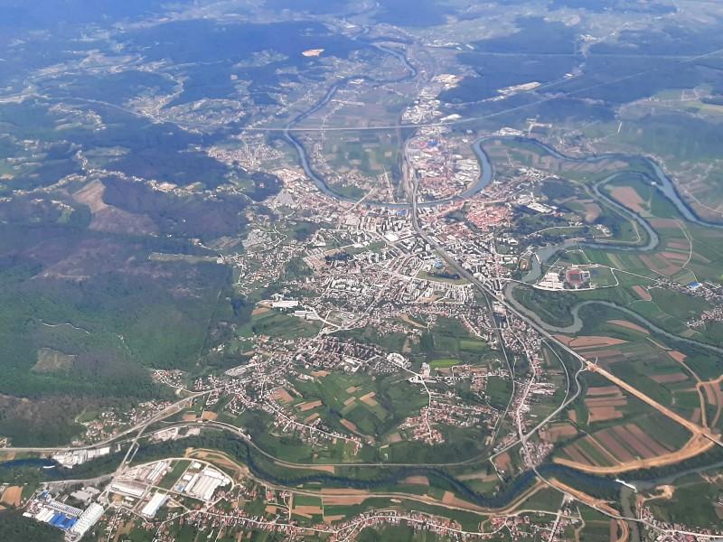 karlovac croatia sky view trade air