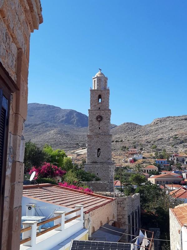 halki town island greece