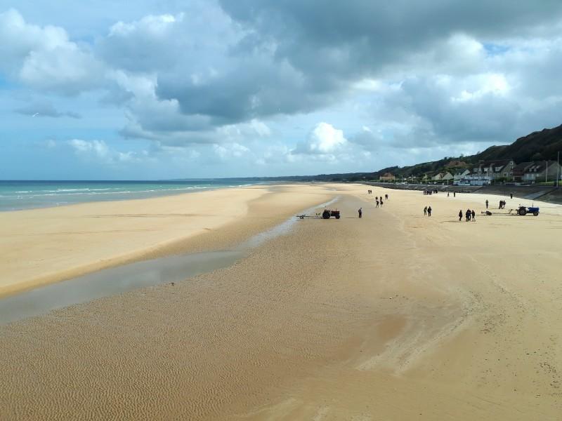 omaha beach vierville