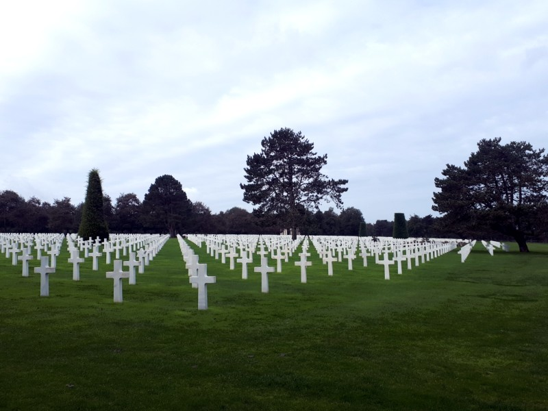 american cemetery colleville