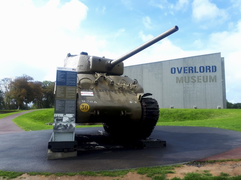 sherman tank overlord museum d-day