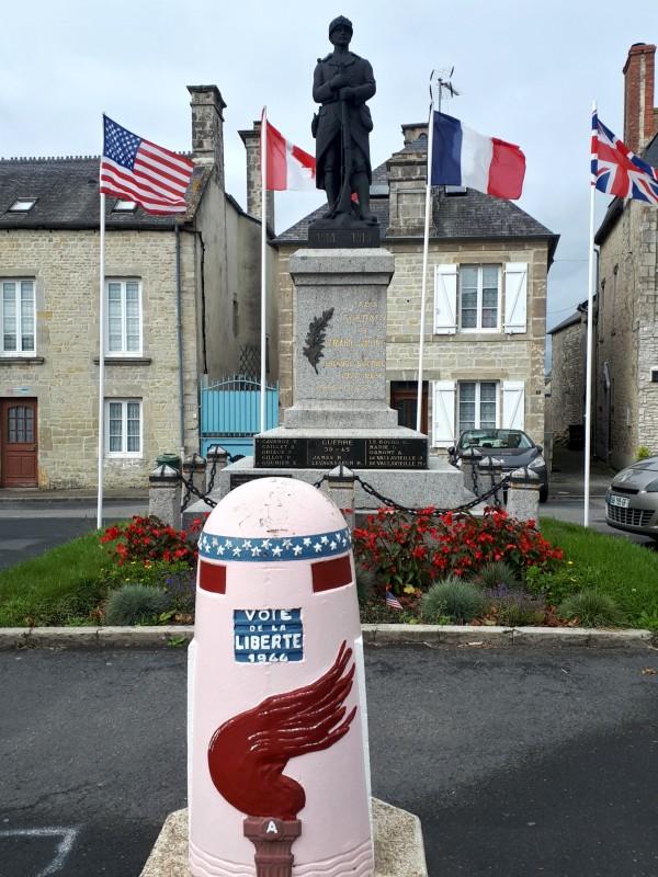 war monument Sainte-Marie-du-Mont d-day sights tour visit