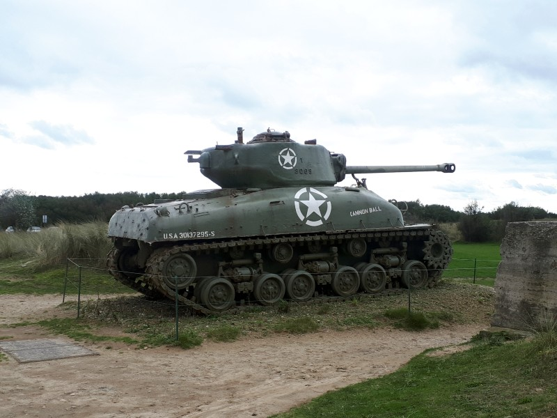 utah beach tank d-day sights tour visit