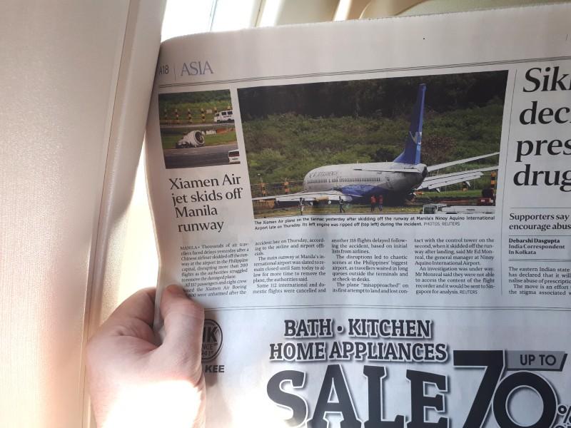 xiamen airlines crash manila