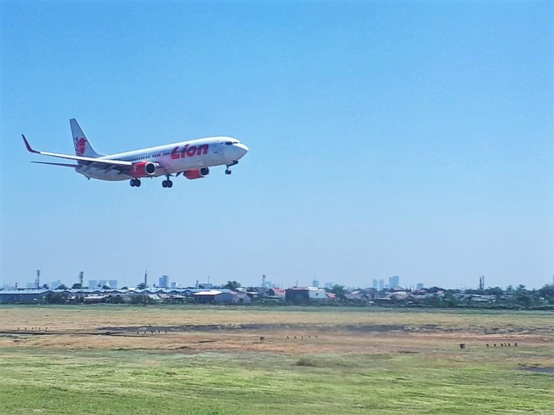 lion air landing surabaya