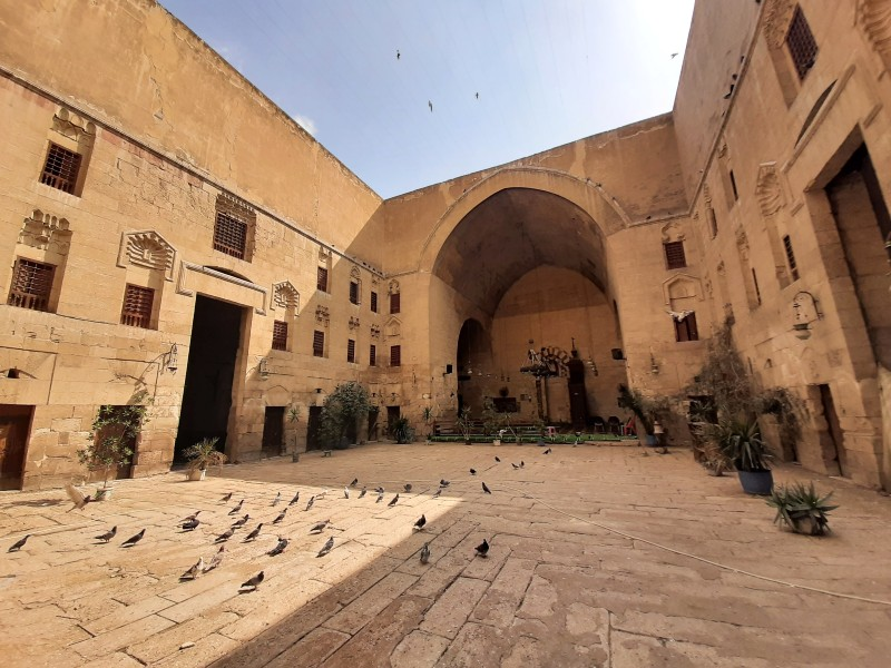khanqah baybars cairo islamic old town